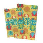 Cute Elephants Microfiber Golf Towel (Personalized)