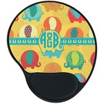 Cute Elephants Mouse Pad with Wrist Support