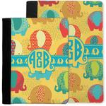 Cute Elephants Notebook Padfolio w/ Couple's Names