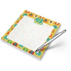 Cute Elephants Notepad (Personalized)