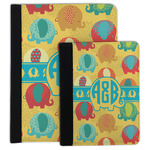 Cute Elephants Padfolio Clipboard (Personalized)