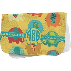 Cute Elephants Burp Cloth (Personalized)