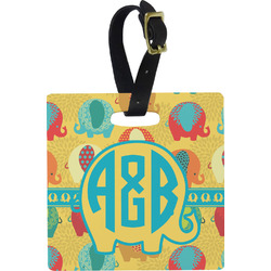 Cute Elephants Luggage Tags (Personalized)
