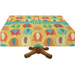 Cute Elephants Tablecloth (Personalized)