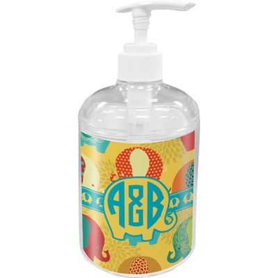 Cute Elephants Soap / Lotion Dispenser (Personalized)