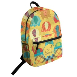 Cute Elephants Student Backpack (Personalized)