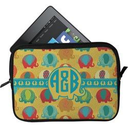 Cute Elephants Tablet Case / Sleeve (Personalized)