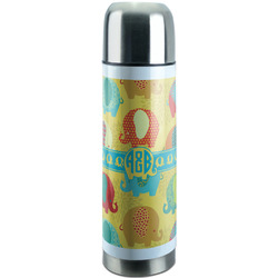 Cute Elephants Stainless Steel Thermos (Personalized)