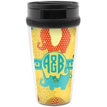 Cute Elephants Travel Mug (Personalized)