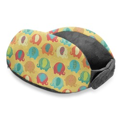 Cute Elephants Travel Neck Pillow