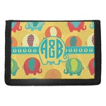 Cute Elephants Trifold Wallet (Personalized)
