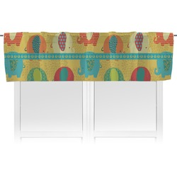 Cute Elephants Valance (Personalized)