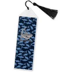 Sharks Book Mark w/Tassel w/ Name or Text