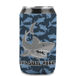 Sharks Can Cooler (12 oz) w/ Name or Text
