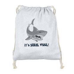 Sharks Drawstring Backpack - Sweatshirt Fleece (Personalized)