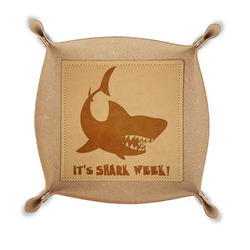 Sharks Genuine Leather Valet Tray (Personalized)