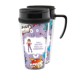 What is your Superpower Acrylic Travel Mugs (Personalized)
