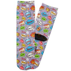What is your Superpower Adult Crew Socks (Personalized)