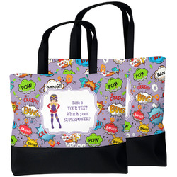 What is your Superpower Beach Tote Bag (Personalized)