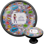 What is your Superpower Cabinet Knob (Black) (Personalized)