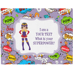 What is your Superpower Placemat (Fabric) (Personalized)