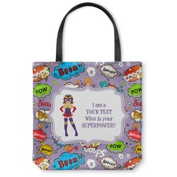 What is your Superpower Canvas Tote Bag (Personalized)