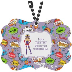 What is your Superpower Rear View Mirror Charm (Personalized)