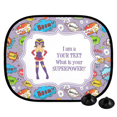 What is your Superpower Car Side Window Sun Shade (Personalized)
