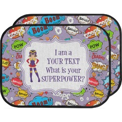 What is your Superpower Car Floor Mats (Back Seat) (Personalized)