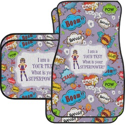 What is your Superpower Car Floor Mats (Personalized)