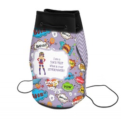 What is your Superpower Neoprene Drawstring Backpack (Personalized)