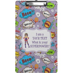 What is your Superpower Clipboard (Legal Size) (Personalized)
