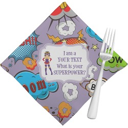 What is your Superpower Napkins (Set of 4) (Personalized)