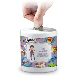 What is your Superpower Coin Bank (Personalized)