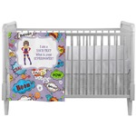 What is your Superpower Crib Comforter / Quilt (Personalized)