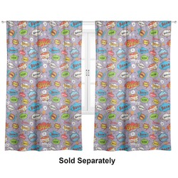 "What is your Superpower Curtains - 20""x63"" Panels - Unlined (2 Panels Per Set) (Personalized)"