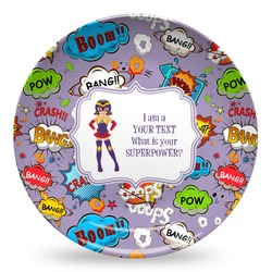 What is your Superpower Microwave Safe Plastic Plate - Composite Polymer (Personalized)