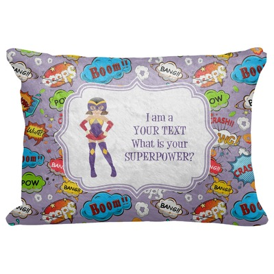 """What is your Superpower Decorative Baby Pillowcase - 16""""x12"""" (Personalized)"""