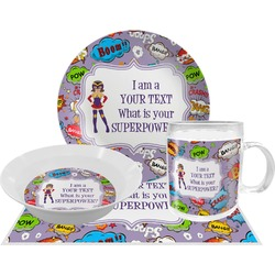 What is your Superpower Dinner Set - 4 Pc (Personalized)