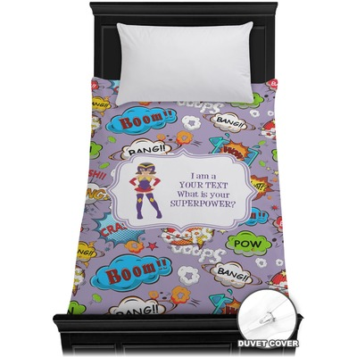 What is your Superpower Duvet Cover - Twin (Personalized)