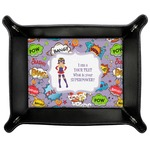 What is your Superpower Genuine Leather Valet Tray (Personalized)