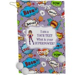 What is your Superpower Golf Towel - Full Print (Personalized)