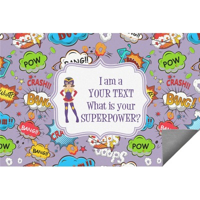 What is your Superpower Indoor / Outdoor Rug (Personalized)