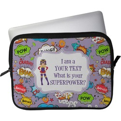 """What is your Superpower Laptop Sleeve / Case - 13"""" (Personalized)"""