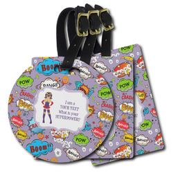 What is your Superpower Plastic Luggage Tags (Personalized)