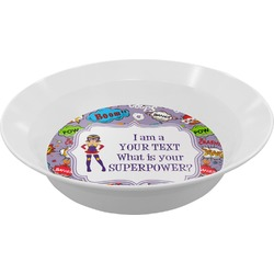 What is your Superpower Melamine Bowl (Personalized)