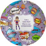 What is your Superpower Melamine Plate (Personalized)