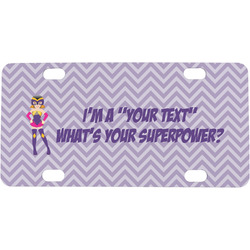 What is your Superpower Mini / Bicycle License Plate (Personalized)