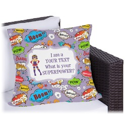 What is your Superpower Outdoor Pillow (Personalized)