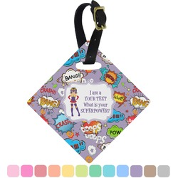 What is your Superpower Diamond Luggage Tag (Personalized)
